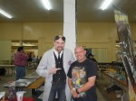Dr Gangrene and I at the 2011 Nashville Comic and Horror Festival